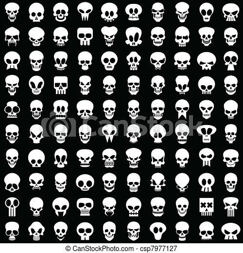 skulls - csp7977127