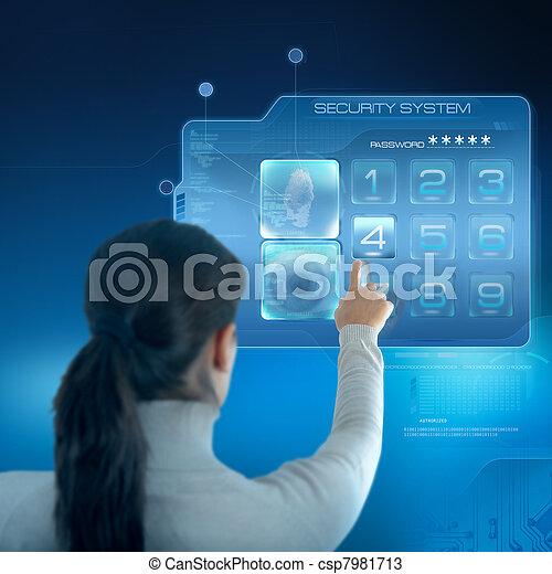 sicurezza, sistema - csp7981713