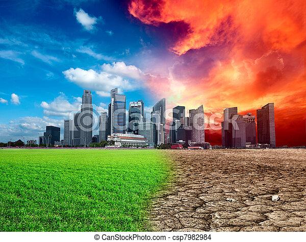 Global warming - csp7982984