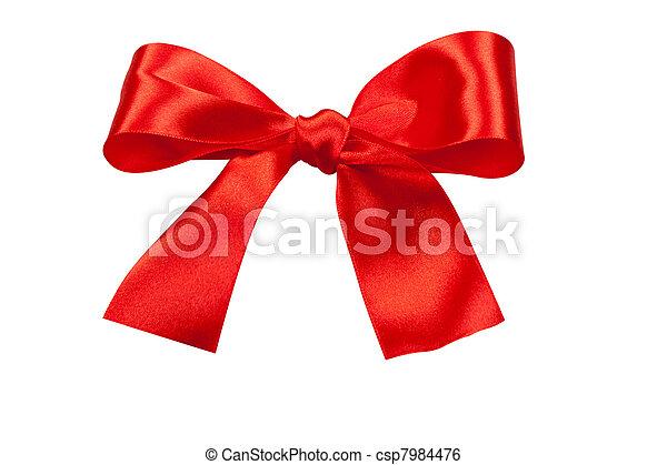 holiday bow - csp7984476