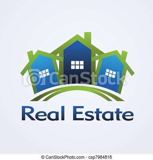 Real Estate concept design - csp7984818