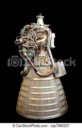 Rocket Engine - csp7985337