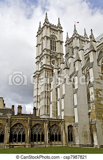 The Westminster Cloister - csp7987821