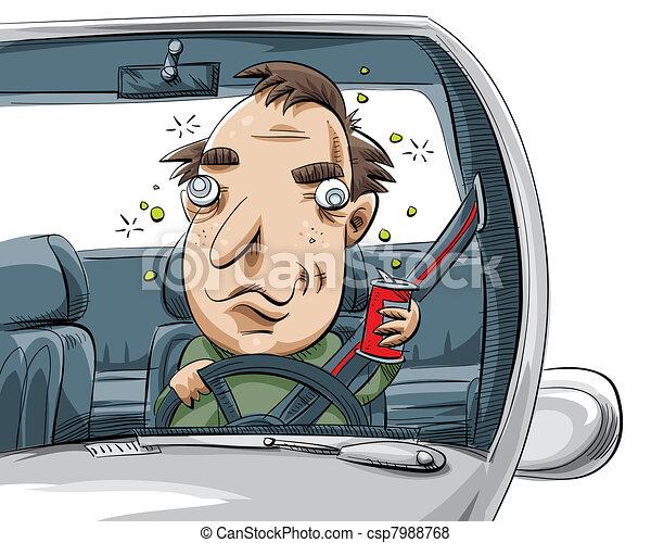 Drunk Driver - csp7988768