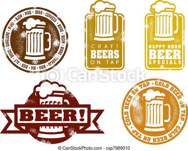 Craft Beer Cans Clipart