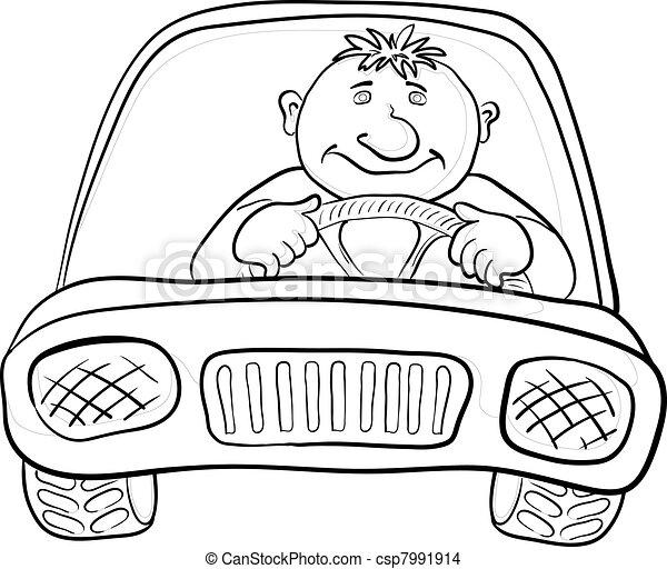 Auto Bestuurder Contourlijnen 7991914 moreover Daisy Hand Drawn Cliparts moreover Horse head clip art 19321 also Doodle Twin Cherries Stem furthermore Clipart Silver Swirl Border. on white contour car