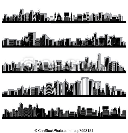 City Scape - csp7993181