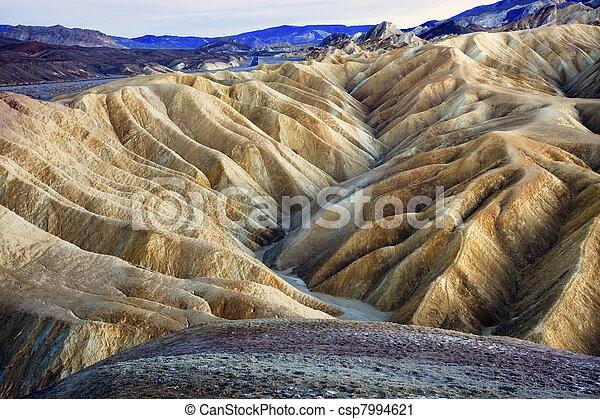Zabruski Point Death Valley National Park California - csp7994621