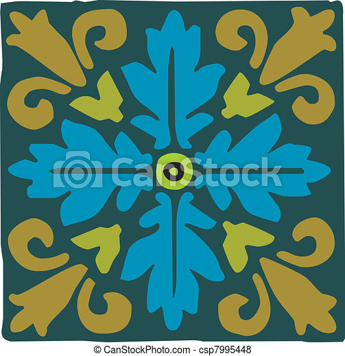 Arabic motif ornament - csp7995448