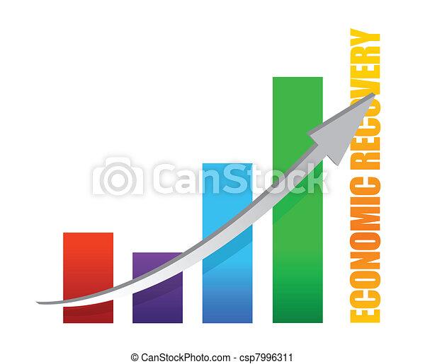 economy recovery chart arrow - csp7996311
