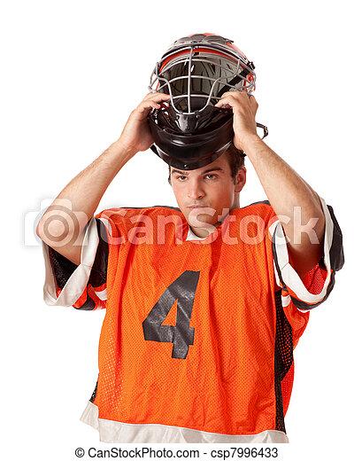 Lacrosse Player - csp7996433