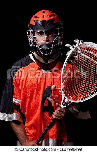 Lacrosse Player - csp7996499
