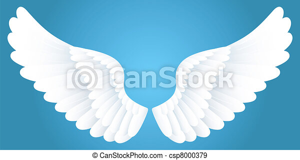 White wings. - csp8000379