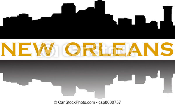 New Orleans Cityscape New Orleans Skyline City of
