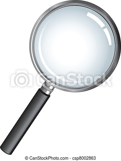 magnifying glass - csp8002863