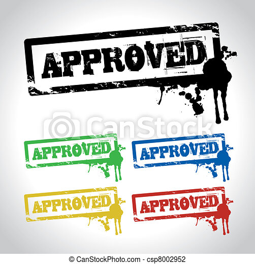 approved sign - csp8002952