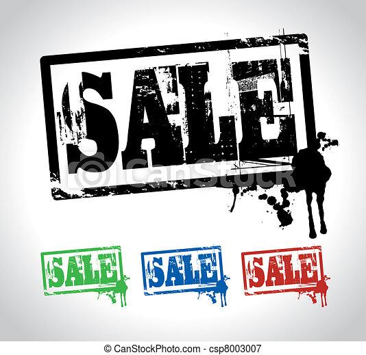 sale sign - csp8003007
