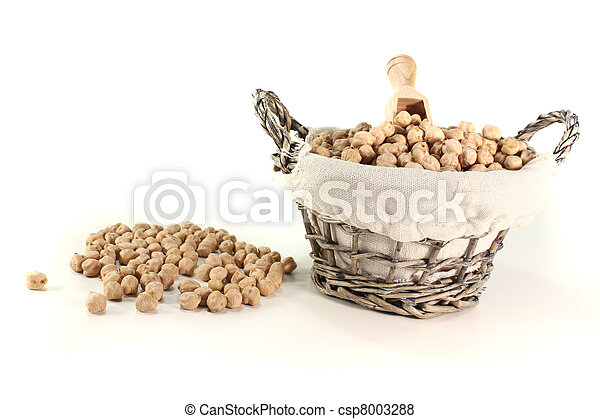 yellow chickpeas - csp8003288