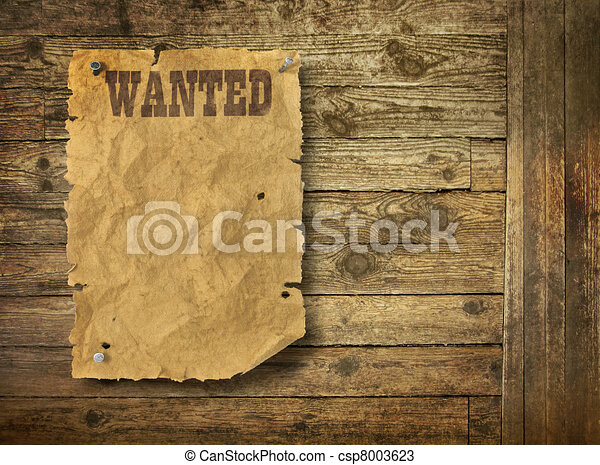 Wood background Wild West style - csp8003623