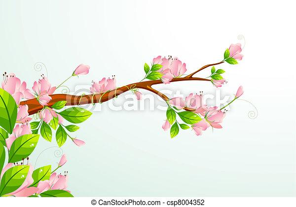 Blooming Flower - csp8004352