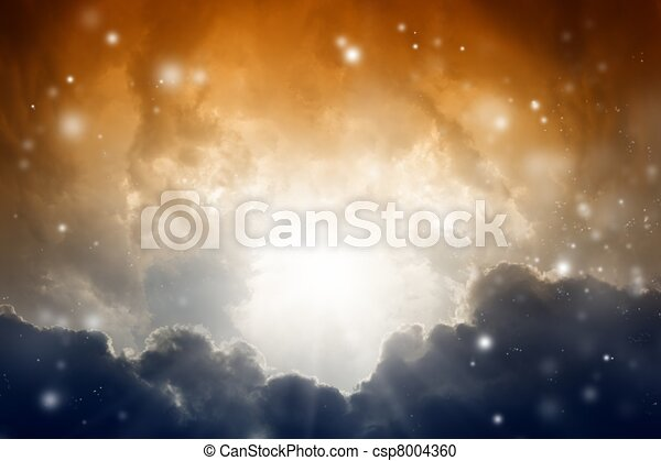 Mysterious sky - csp8004360