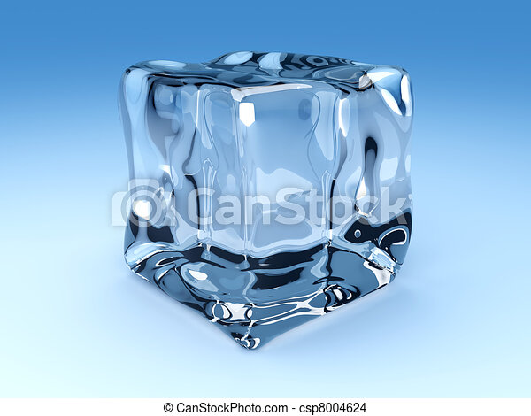Ice Cubes Drawing an Ice Cubes