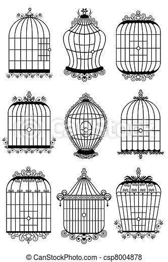Bird Cage - csp8004878