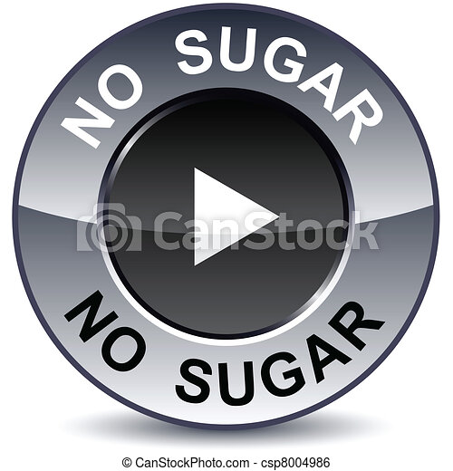 No sugar round button. - csp8004986