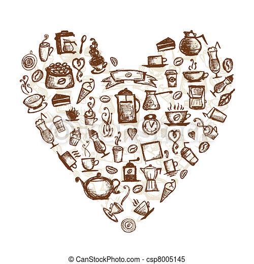 Coffee Heart Designs