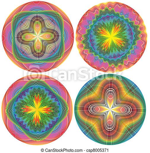 Oriental ornaments - csp8005371