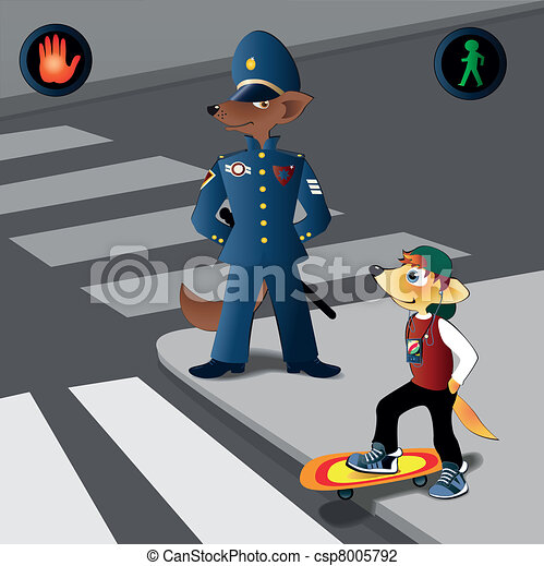 Traffic regulations - csp8005792