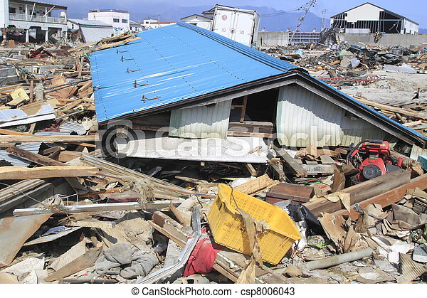 The Great East Japan Earthquake - csp8006043