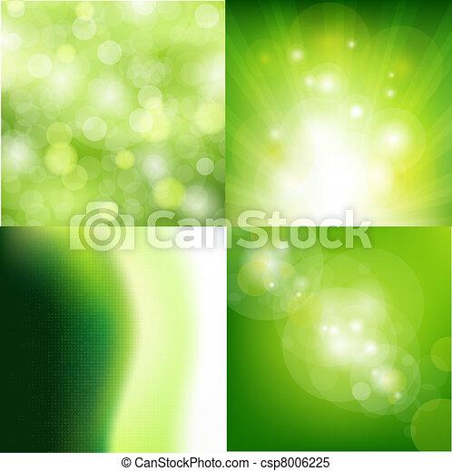 Nature Backgrounds Set - csp8006225