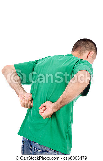 Man have a kidney pain - csp8006479