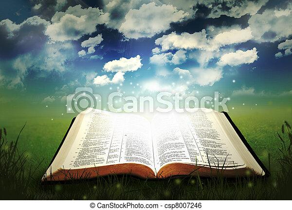 Ardendo, Bibbia - csp8007246