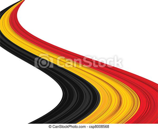 Belgian flag. - csp8008568