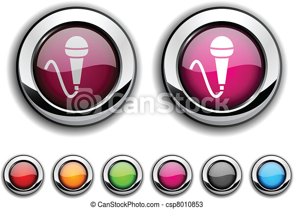 Mic button. - csp8010853