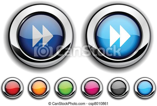 Forward button. - csp8010861