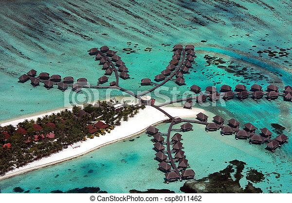 Maldives aerial - csp8011462