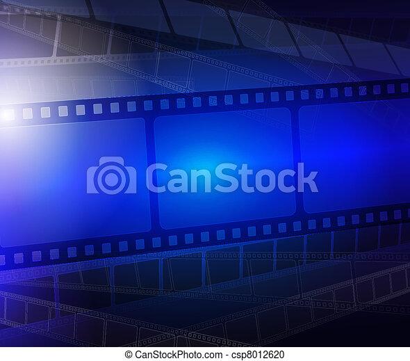 Film strip abstract background  - csp8012620