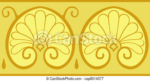 classical floral design - csp8014377
