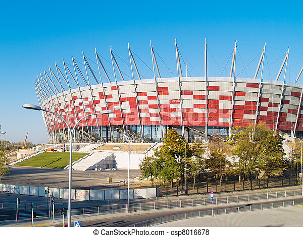 stadium of Warsaw, Poland - csp8016678