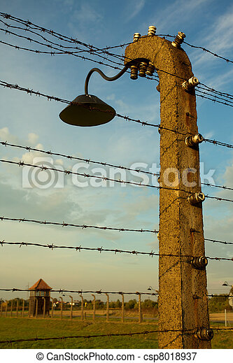 Auschwitz-Birkenau Concentration Camp - csp8018937
