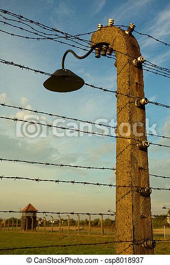 Auschwitz-Birkenau Concentration Camp - csp8018937