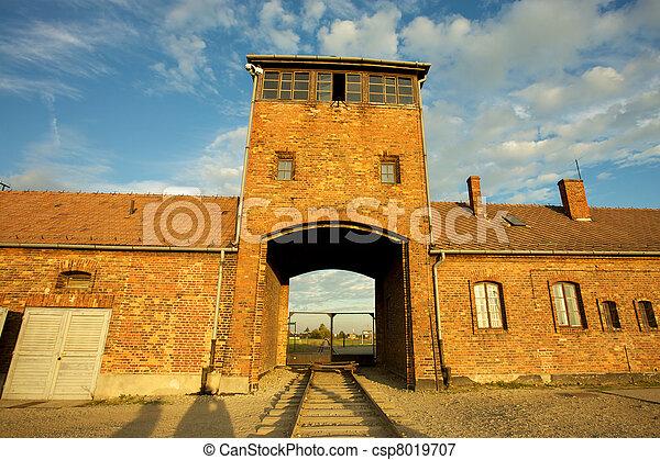 Auschwitz-Birkenau Concentration Camp - csp8019707