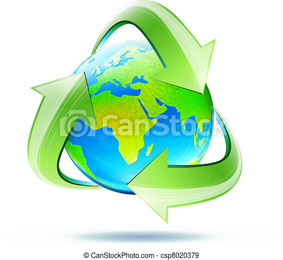 recycle symbol - csp8020379