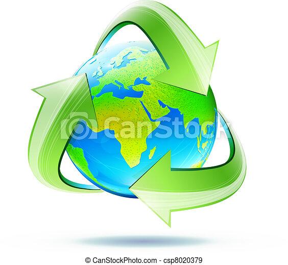 recycle symbol - csp8020379
