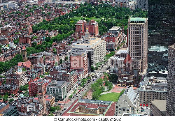 Boston aerial view - csp8021262
