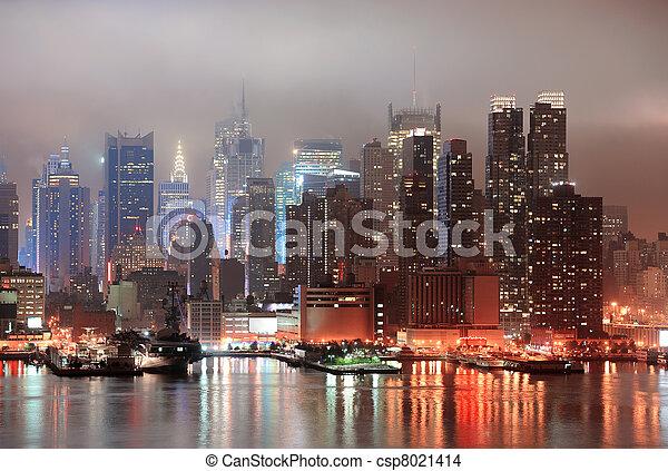 New York City Manhattan - csp8021414