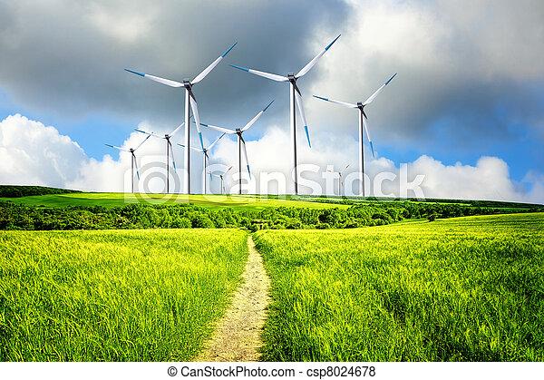 Wind Industry - csp8024678